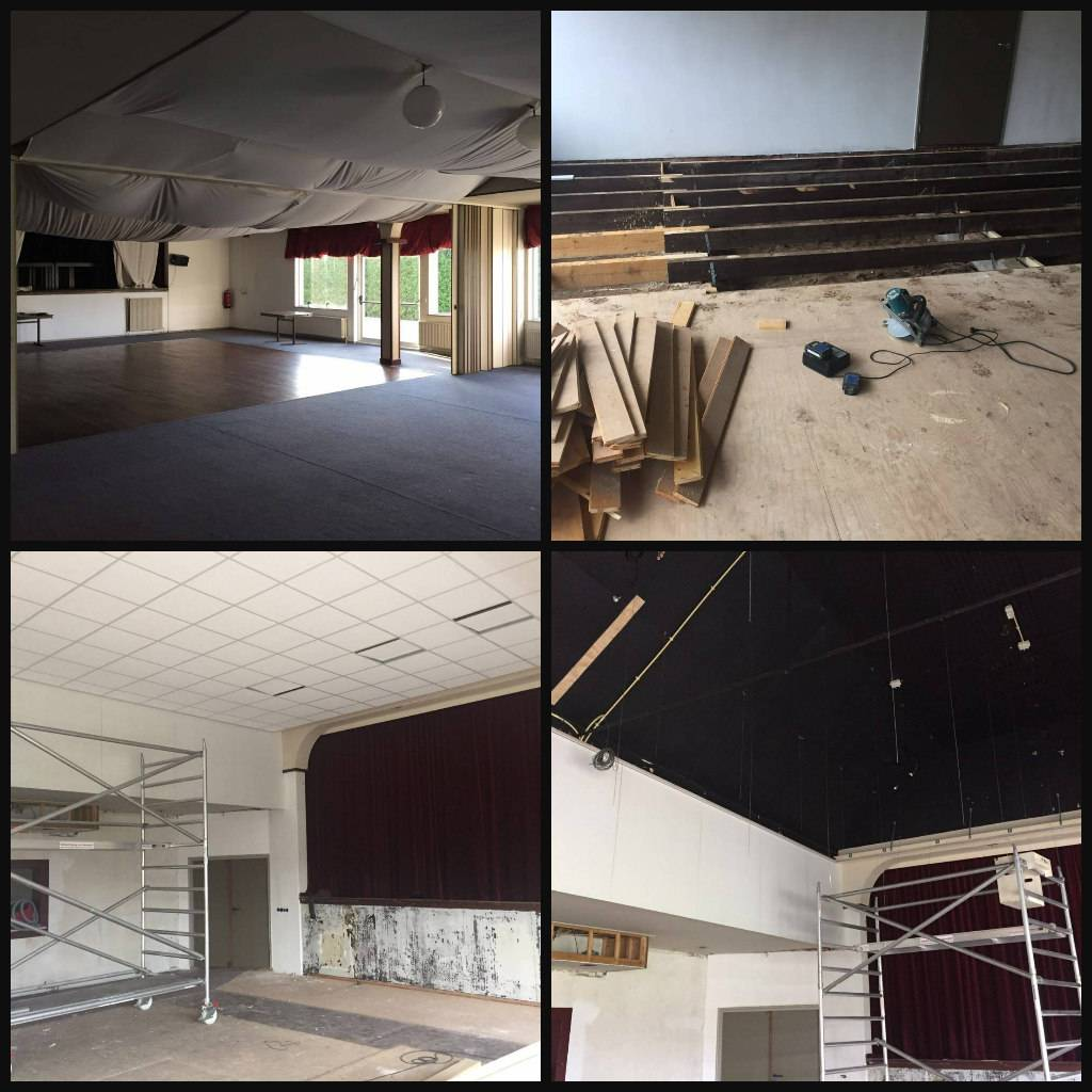 Home restaurant 39 t witte huis - Moderne huiszaal ...